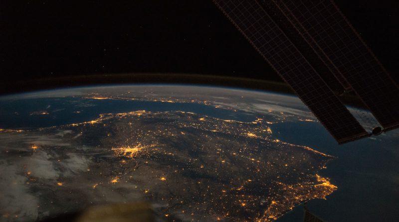 La Península Ibérica desde la Estación Espacial Internacional