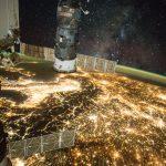 La Vía Láctea y Europa Central desde la ISS
