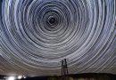 Imagen de rastro de estrellas desde Hungría