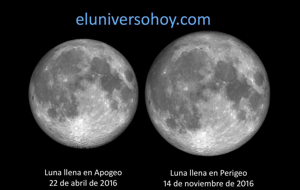 Esta noche se podrá ver la Luna llena más grande y brillante del 2016