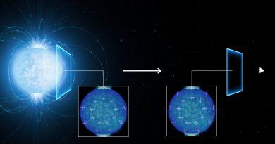 Posibles primeras señales en el espacio vacío de una extraña propiedad cuántica