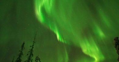 Auroras boreales desde Finlandia