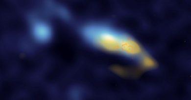 Astrónomos observan cúmulos estelares expulsando grandes cantidades de polvo