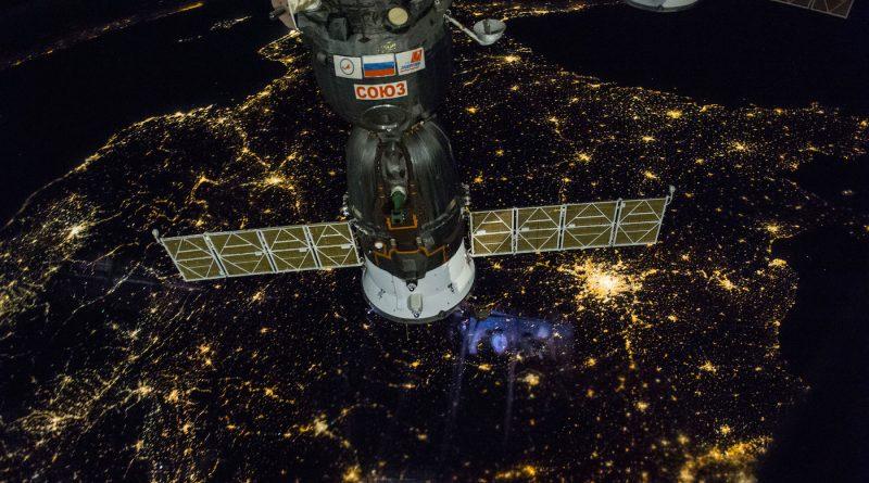 Imagen de Francia desde la Estación Espacial Internacional
