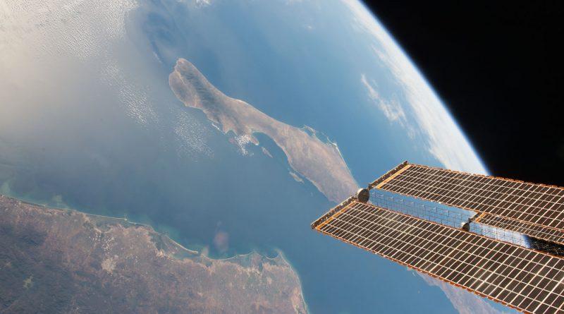 La Península de Baja California (México) desde la ISS