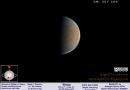 Fotografía de Venus tomada el 28 de diciembre de 2016