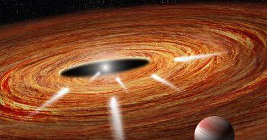 Descubren restos de cometas destruidos por una estrella a 95 años luz de distancia de la Tierra