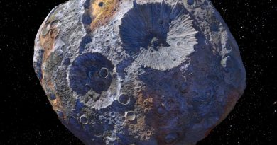 Misión espacial a Psyche, un asteroide de metal