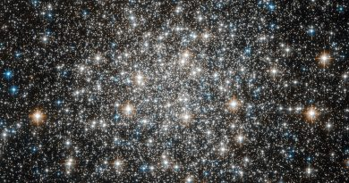 El brillante cúmulo globular Messier 10