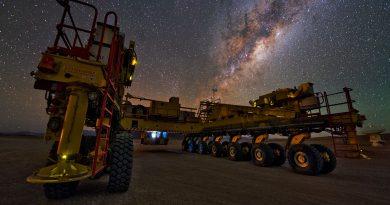 La Vía Láctea desde el desierto de Atacama, Chile