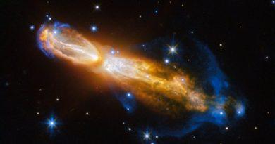 La espectacular muerte de una estrella similar al Sol