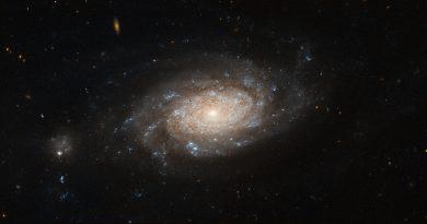 El agujero negro supermasivo de la Galaxia NGC 3259