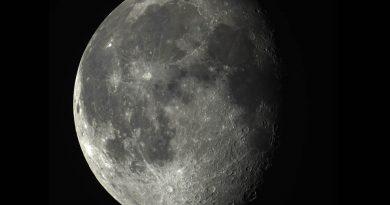 La Luna desde Washington, Estados Unidos