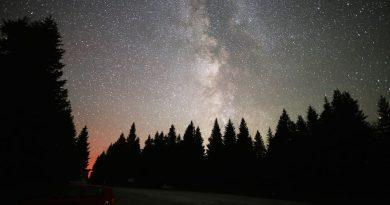 La Vía Láctea desde Gaberl, Austria