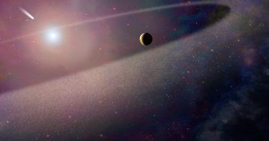 Astrónomos observan un objeto similar a un cometa siendo despedazado por una enana blanca