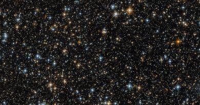 Un paisaje lleno de estrellas y galaxias captado por el Hubble