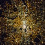 Londres, Inglaterra, desde la Estación Espacial Internacional