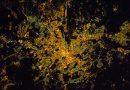 Roma, Italia, desde la Estación Espacial Internacional