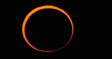 El 26 de febrero se podrá ver un eclipse anular de Sol en América del Sur