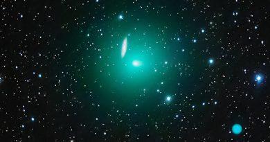 El Cometa 41P/Tuttle-Giacobini-Kresak y la Galaxia M108
