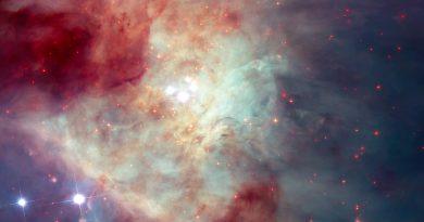 El Hubble capta una nueva imagen de la Nebulosa de Orión