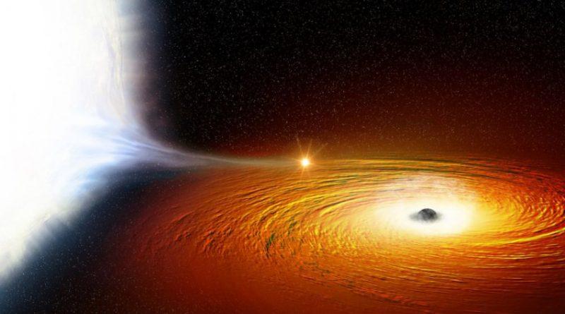 Descubren una estrella orbitando un agujero negro dos veces cada hora