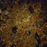 París, Francia, desde la Estación Espacial Internacional