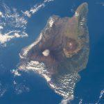 La isla de Hawái desde la Estación Espacial Internacional