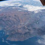 El suroeste de México desde la Estación Espacial Internacional