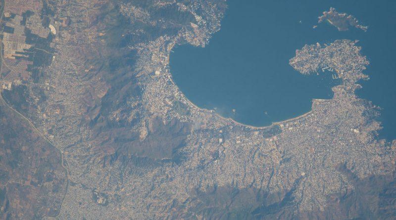 Acapulco (México), desde la Estación Espacial Internacional
