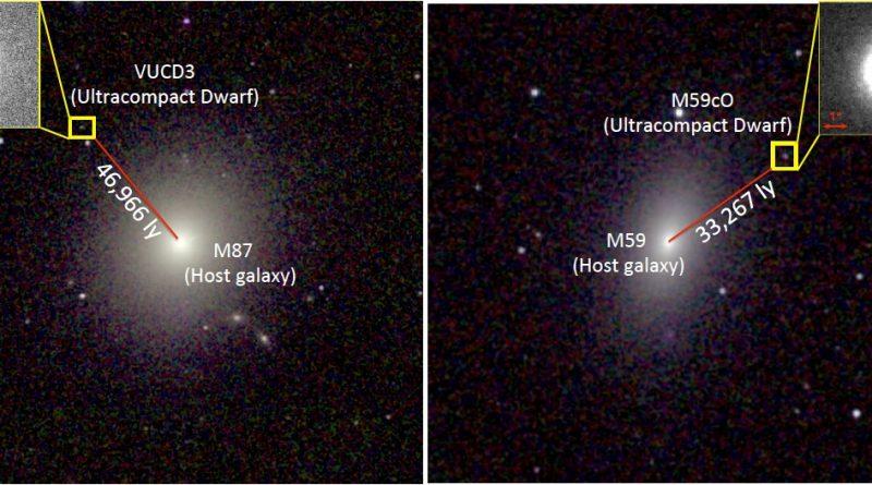 Descubren agujeros negros supermasivos en dos galaxias diminutas