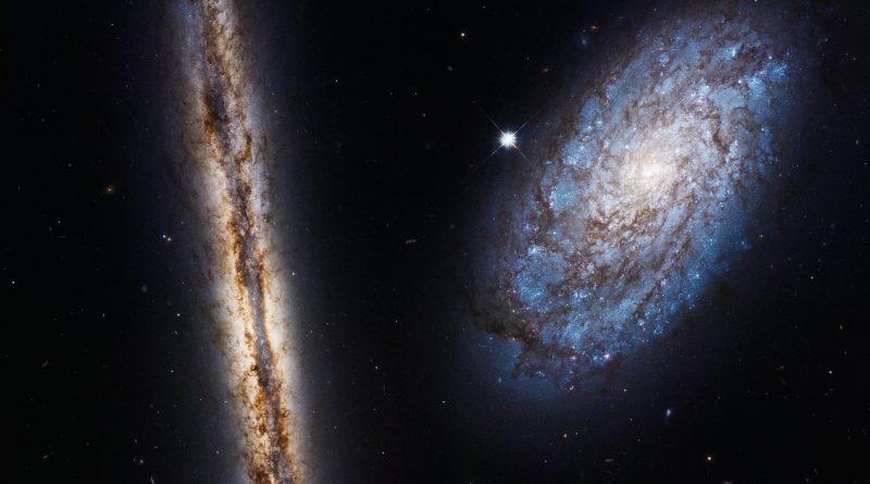 Una pareja galáctica en la constelación de Coma Berenices