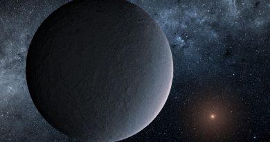 Descubren un exoplaneta helado a 13.000 años luz de distancia