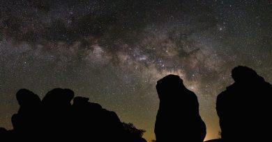 La Vía Láctea desde Nuevo México, Estados Unidos