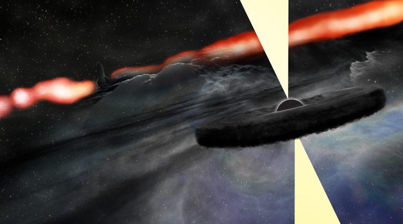 Descubren un objeto brillante cerca del núcleo de la galaxia Cygnus A