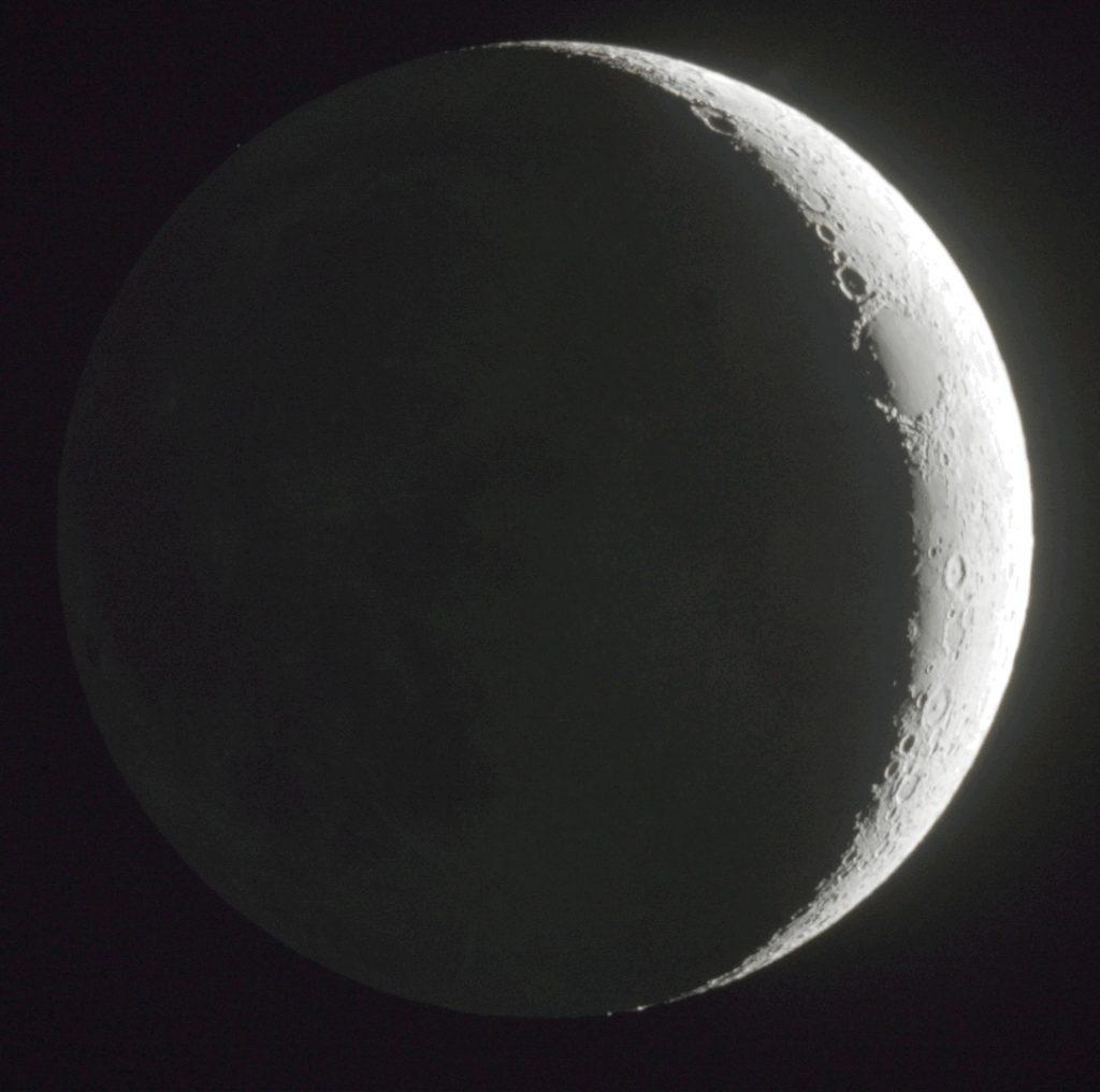 La luna creciente desde israel el universo hoy for Que fase lunar hay hoy