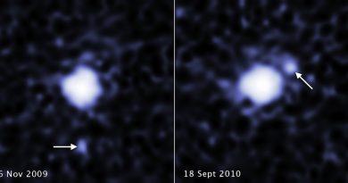 Descubren una luna orbitando al tercer planeta enano más grande del Sistema Solar