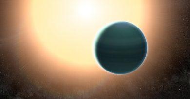 La atmósfera primitiva de un exoplaneta similar a Neptuno