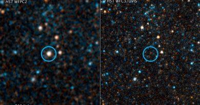 La estrella gigante que no se pudo convertir en supernova