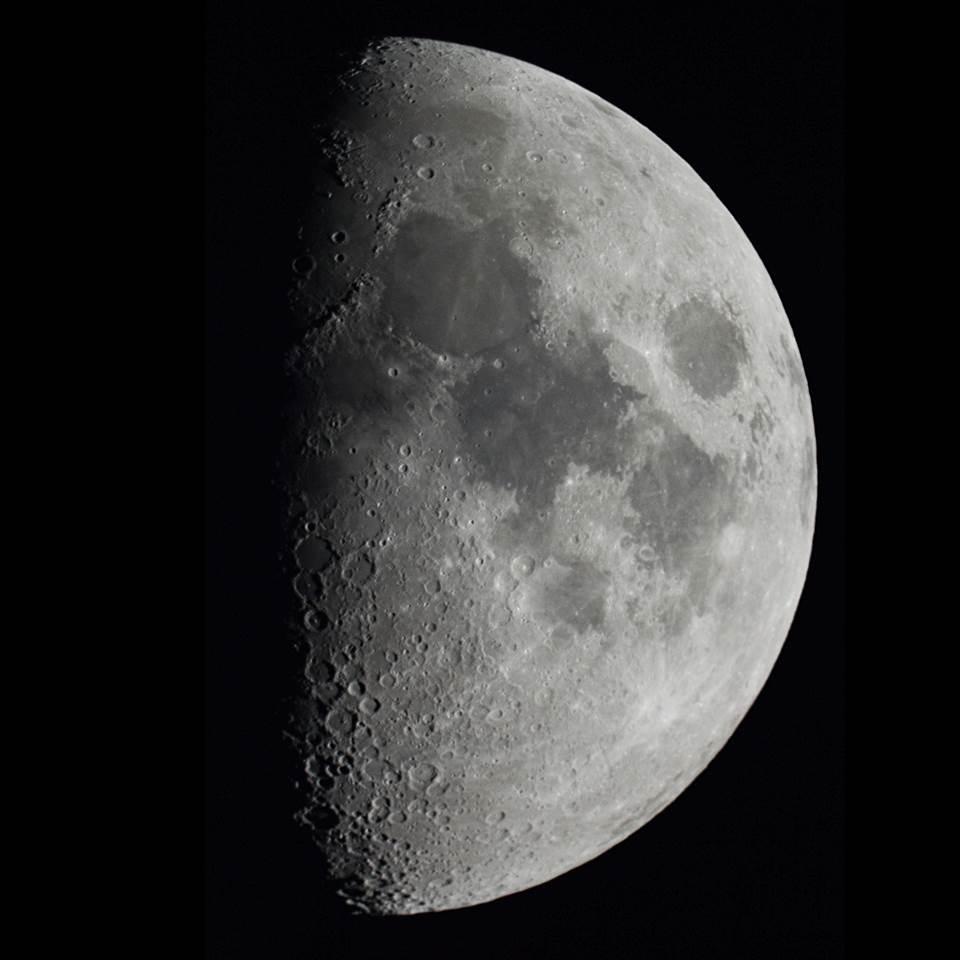 la luna desde washington estados unidos el universo hoy