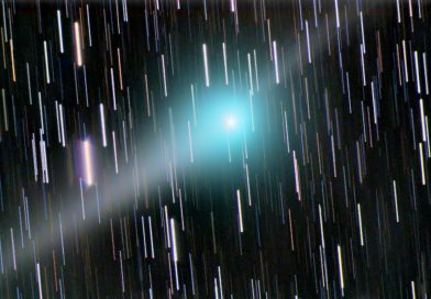 Imagen del Cometa C/2015 V2 (Johnson) tomada el 26 de mayo