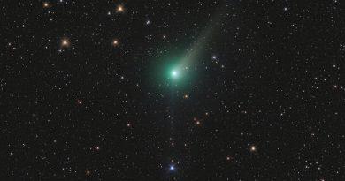 Foto del Cometa C/2015 V2 (Johnson) tomada el 20 de mayo