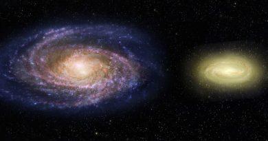 El Hubble observa una galaxia más pequeña que la Vía Láctea pero tres veces más masiva