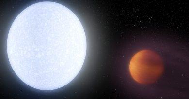 Un planeta más caliente que la mayoría de las estrellas