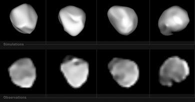 El instrumento SPHERE del VLT capta imágenes del asteroide 6 Hebe