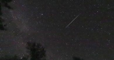 Imagen de un meteoro desde Washington, Estados Unidos