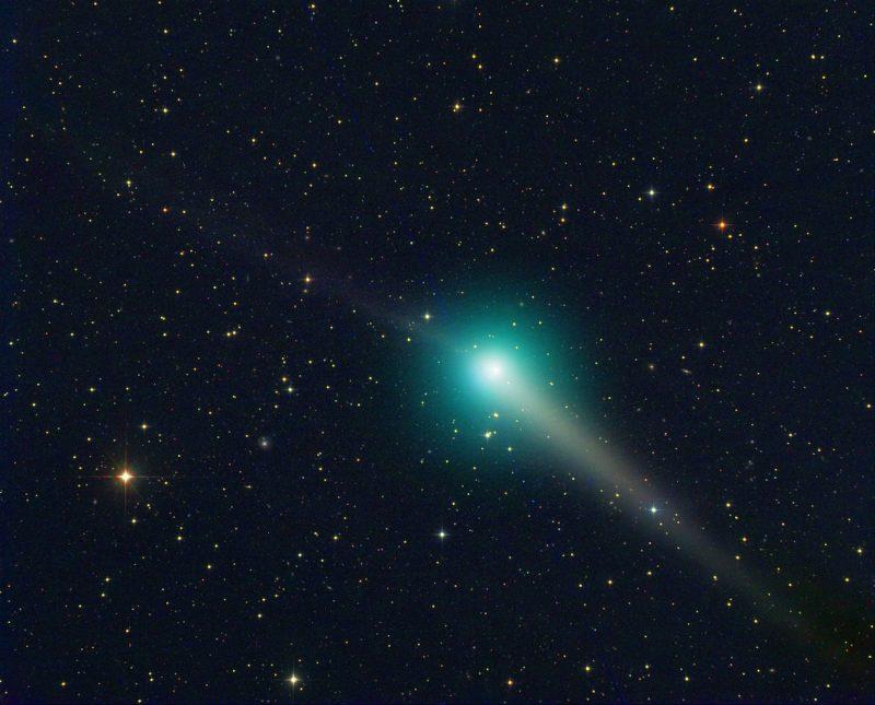 Foto del Cometa C/2015 V2 (Johnson) tomada el 28 de mayo