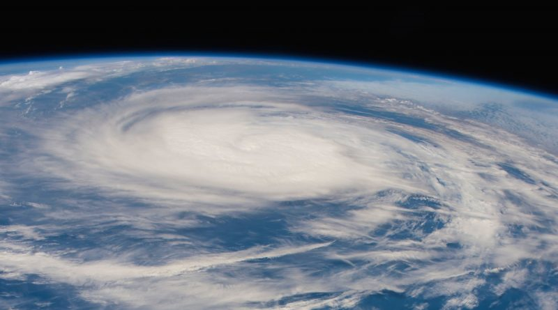 Imagen del huracán Eugene desde la Estación Espacial Internacional