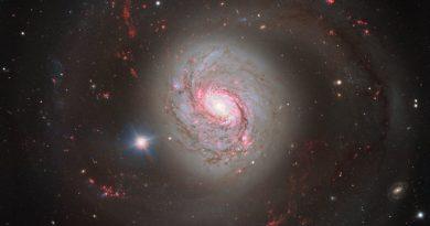 El corazón activo de la galaxia Messier 77