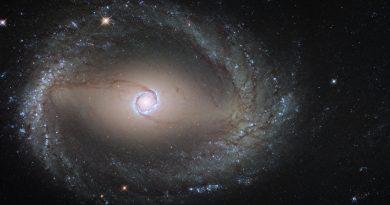 El encuentro entre una galaxia gigante y una galaxia enana